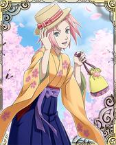 Sakura Haruno School Card 1