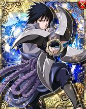 Sasuke Uchiha Anniversary Card 1