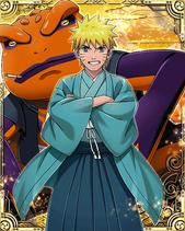 Naruto Uzumaki New Year Card 2
