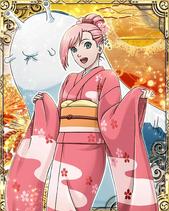 Sakura Haruno New Year Card 3