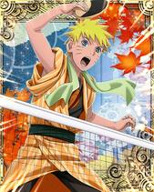Naruto Uzumaki Hot Spring Card 1