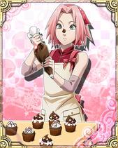 Sakura Haruno Valentine Card 2