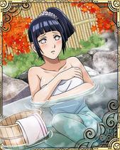 Hinata Hyuga Hot Spring Card 2