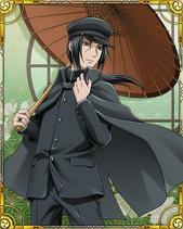 Itachi Uchiha School Card 1