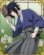 Sasuke Uchiha School Card 1