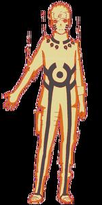 Naruto - Kurama Chakra Mode
