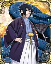 Sasuke Uchiha New Year Card 3