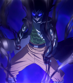 Gajeel Redfox - Iron Shadow Dragon Mode