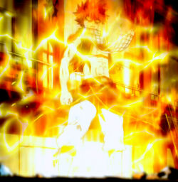 Natsu Dragneel - Lightning Flame Dragon Mode