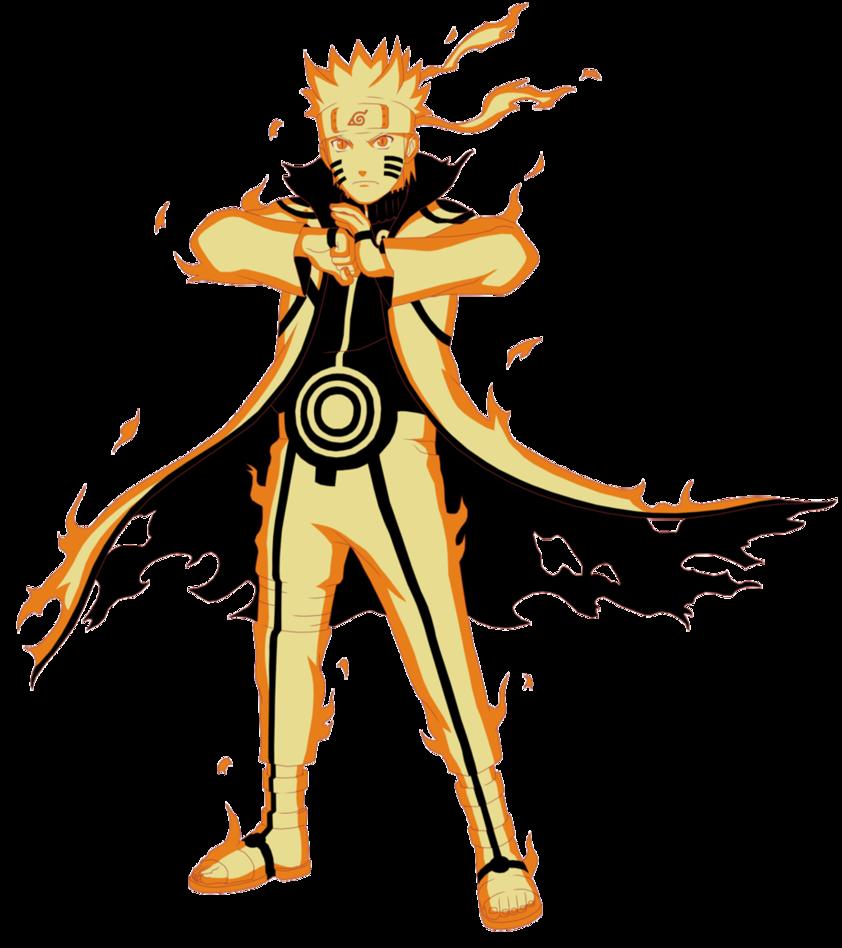 My frist genin exam Naruto_Uzumaki_-_Kurama_Link_Mode