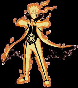Naruto Uzumaki - Kurama Link Mode