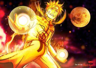Naruto Chakra Blast