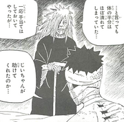 Obito encounters Madara