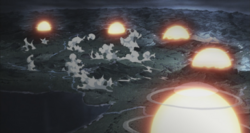 TBB explosion