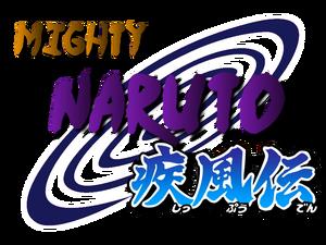 Naruto Mighty logo V2