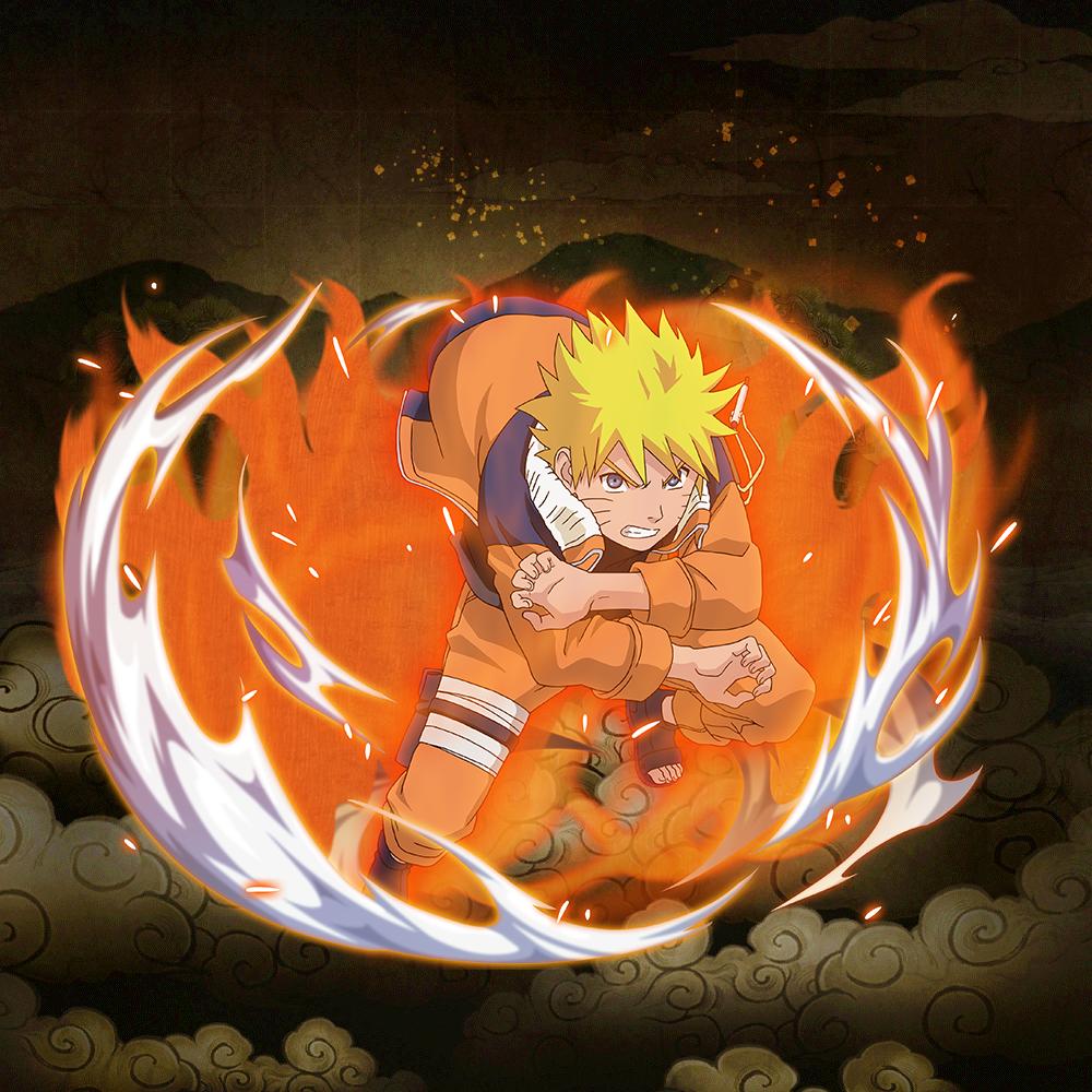 Naruto Shippuden Karten.Naruto Uzumaki Nine Tails Power Up 5 Naruto