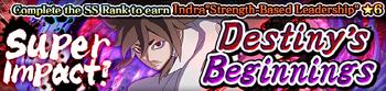 Super Impact! Destiny's Beginnings Banner