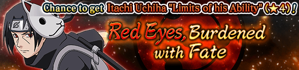 Red Eyes, Burdened with Fate Banner