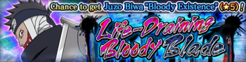 Life-Draining Bloody Blade Banner