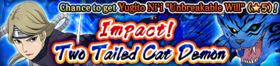 Impact! Two Tailed Cat Demon Banner