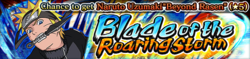 Blade of the Roaring Storm Banner