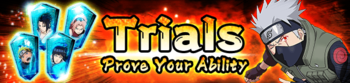 Trials Prove Your Ability Banner