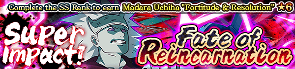 Super Impact! Fate of Reincarnation Banner