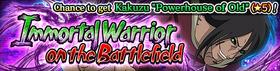 Immortal Warrior on the Battlefield Banner