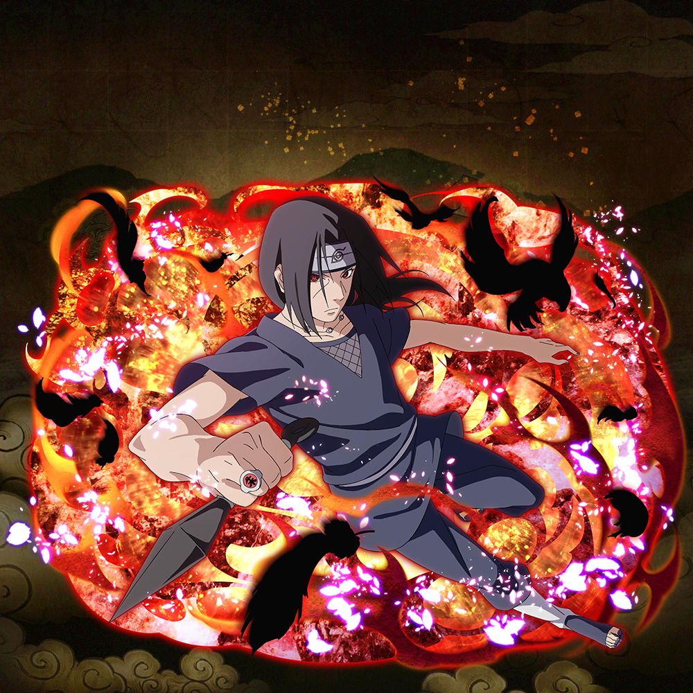 """Itachi Uchiha """"Eyes Which Weave Truth and Lies"""" (★6 ..."""