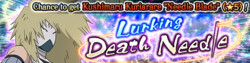 Lurking Death Needle Banner