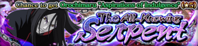 The All-Knowing Serpent Banner