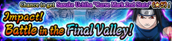 Impact! Battle in the Final Valley! Banner