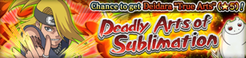 Deadly Arts of Sublimation Banner