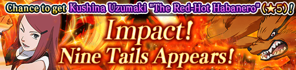 Impact! Nine Tails Appears! Banner