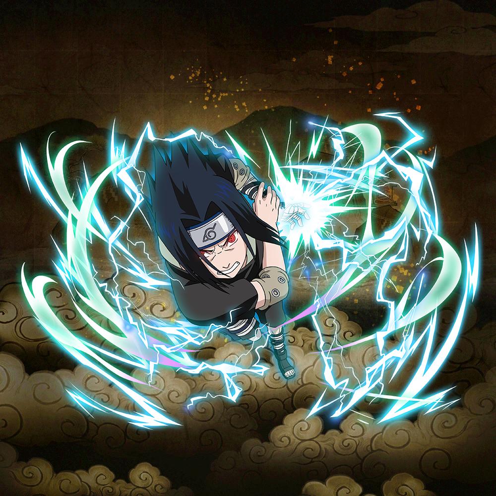 """Sasuke Uchiha """"Chidori: A New Skill"""" (★6)"""