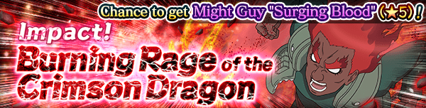 Impact! Burning Rage of the Crimson Dragon Banner
