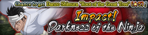 Impact! Darkness of the Ninja Banner