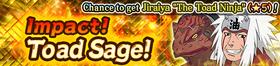 Impact! Toad Sage! Banner