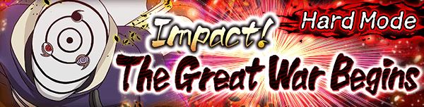 Impact! The Great War Begins Hard Banner