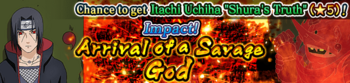 Impact! Arrival of a Savage God Banner