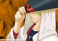 Naruto pensado en Wakagi