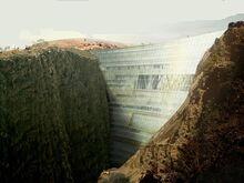 Dam-render