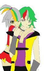 Kenshin and Lyn