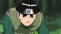 Rock lee con su banda ninja
