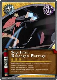Sage Jutsu: Rasengan Barrage