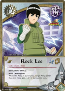 Carta Naruto Storm 3 Lee