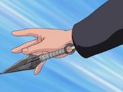 Mecanismo de Kunai Escondido Anime