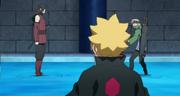Shizuma tratando de convencer a Kagura de unirse a él