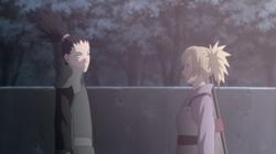 Shikamaru invita Temari per un appuntamento
