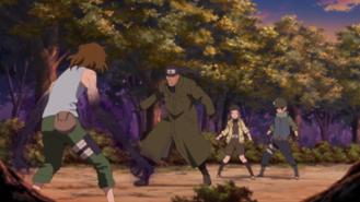 Team Ibiki Confronts Enko